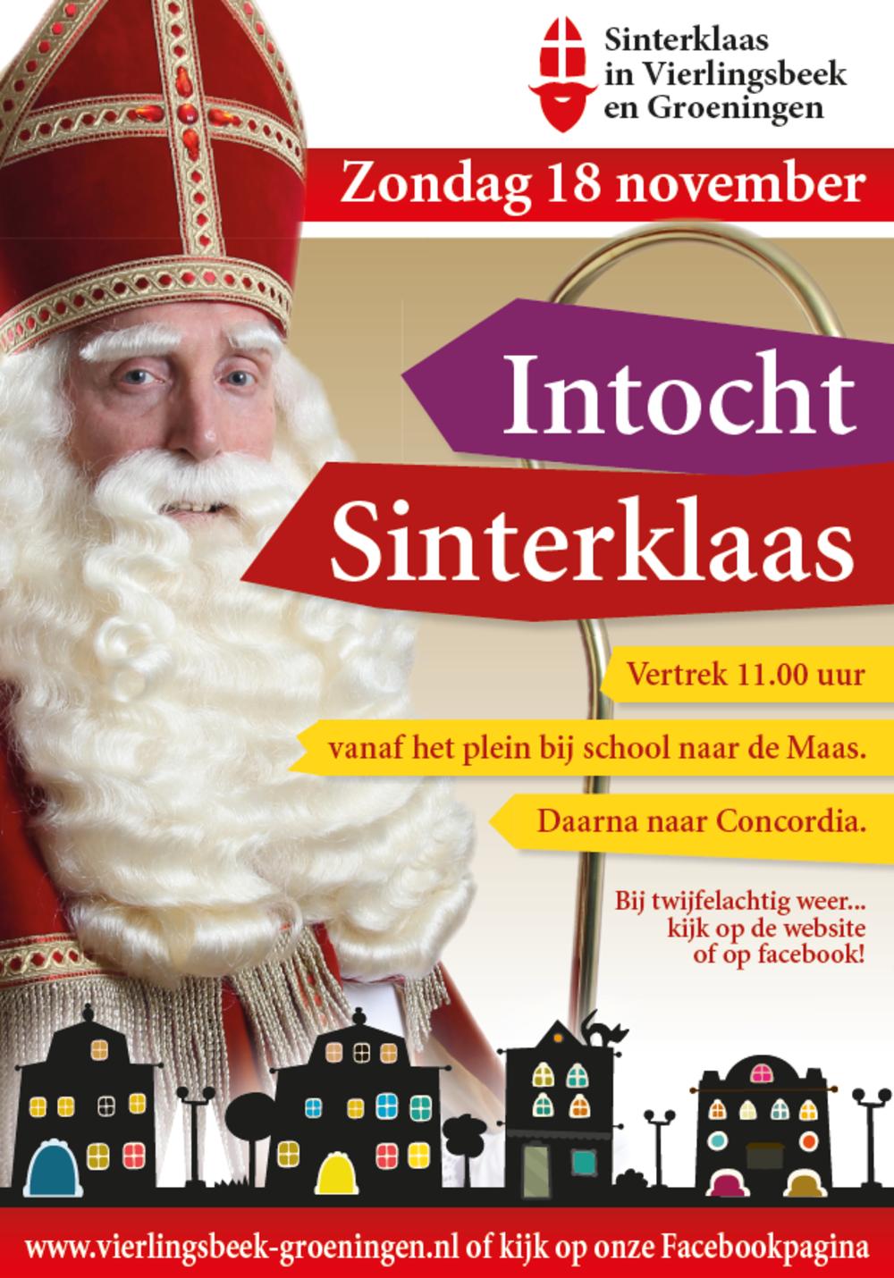 Intocht Van Sinterklaas In Vierlingsbeek En Groeningen Nieuws Vierlingsbeek Groeningen