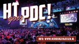 Met Herberg Thijssen naar PDC William Hill World Championship (darts) in Alexandra Palace te Londen